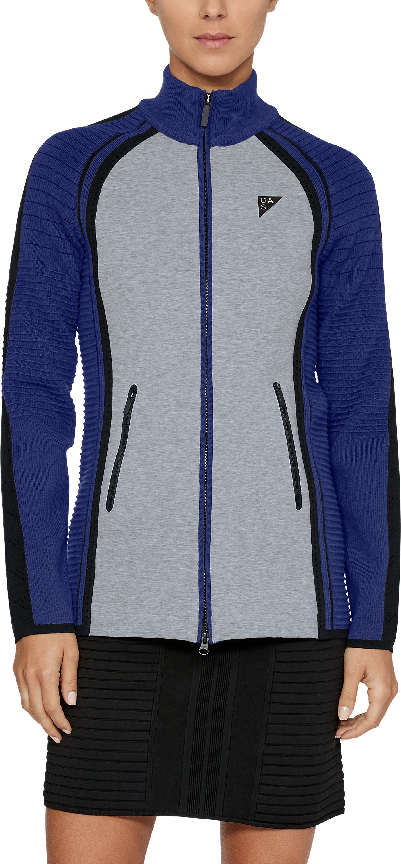 Women's UAS Hybrid Jacket, Navy