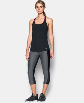 Women's UA Fly-By Embossed Racer Tank  1 Color $39.99