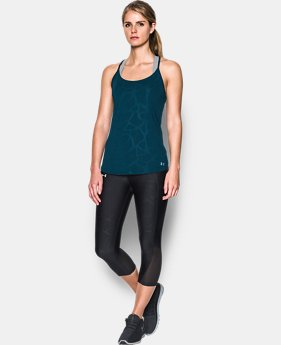 New Arrival Women's UA Fly-By Embossed Racer Tank  1 Color $39.99