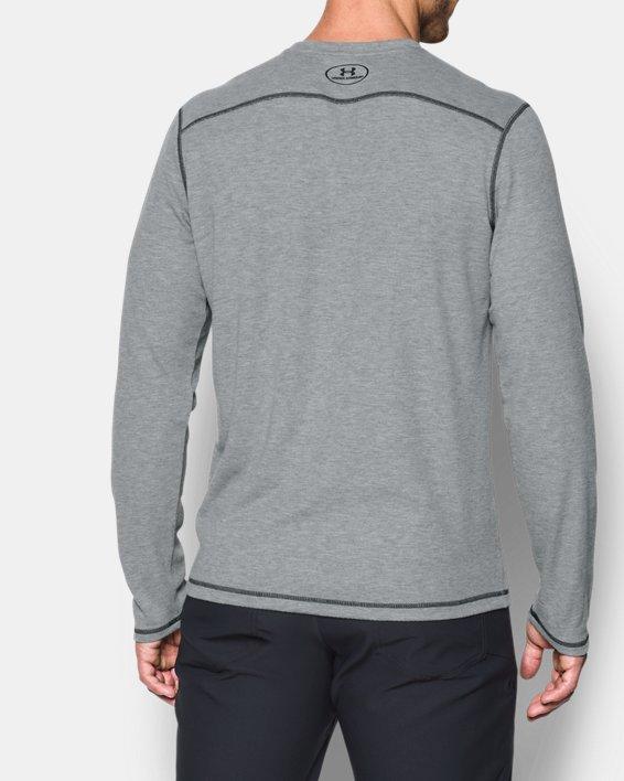 Men's ColdGear® Infrared Whitetail Pill Long Sleeve, Gray, pdpMainDesktop image number 2