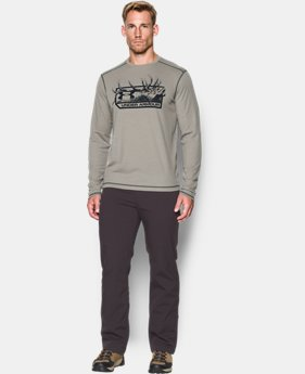 Men's ColdGear® Infrared Elk Pill Long Sleeve  1 Color $54.99