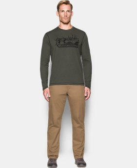 Men's ColdGear® Infrared Elk Pill Long Sleeve  1 Color $64.99