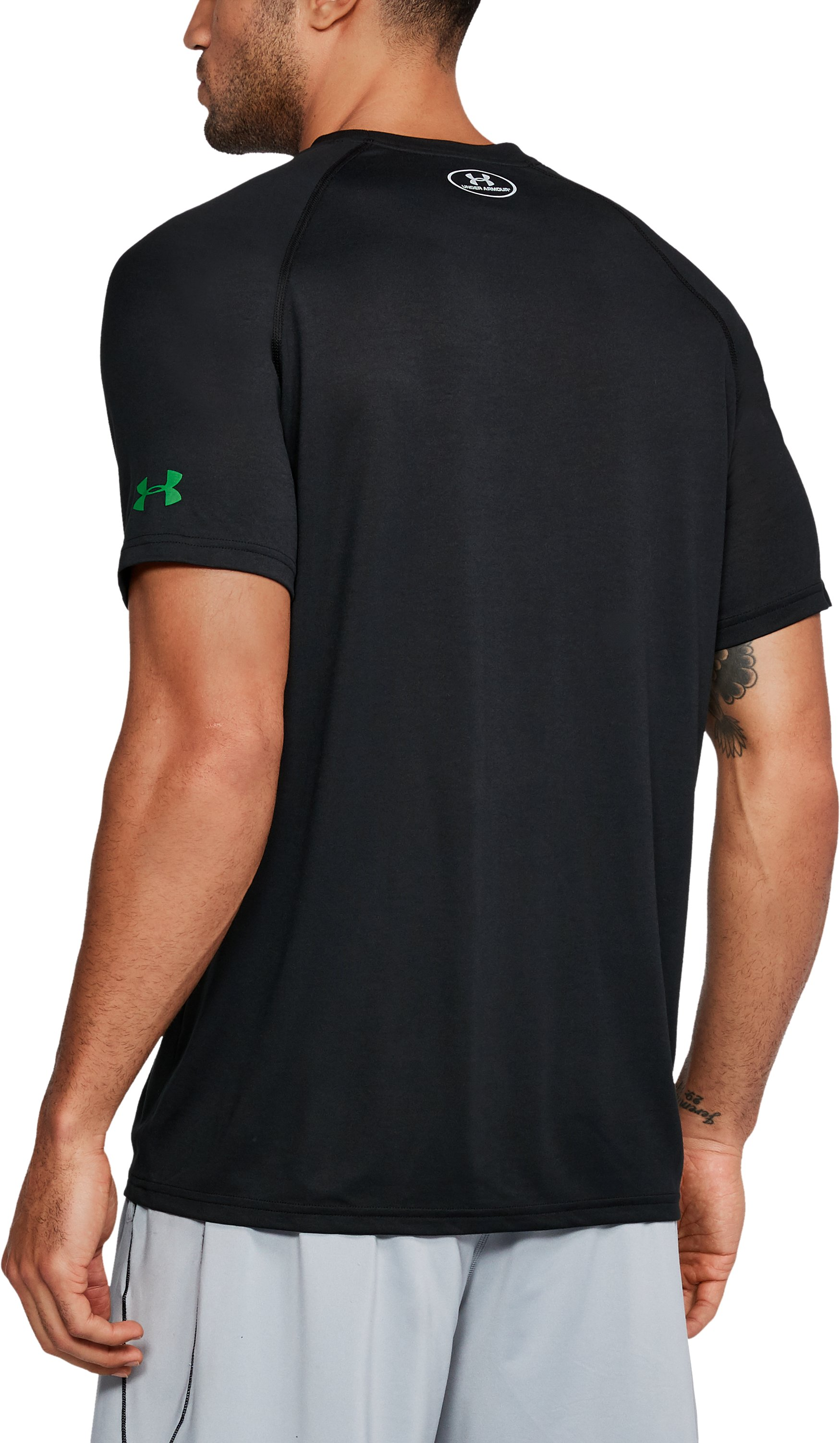 Men's NBA Combine UA Tech™ Logo T-Shirt , NBA_BOSTON CELTICS_BLACK,
