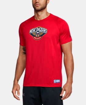 New Arrival Men's NBA Combine UA Tech™ Logo T-Shirt   1 Color $35