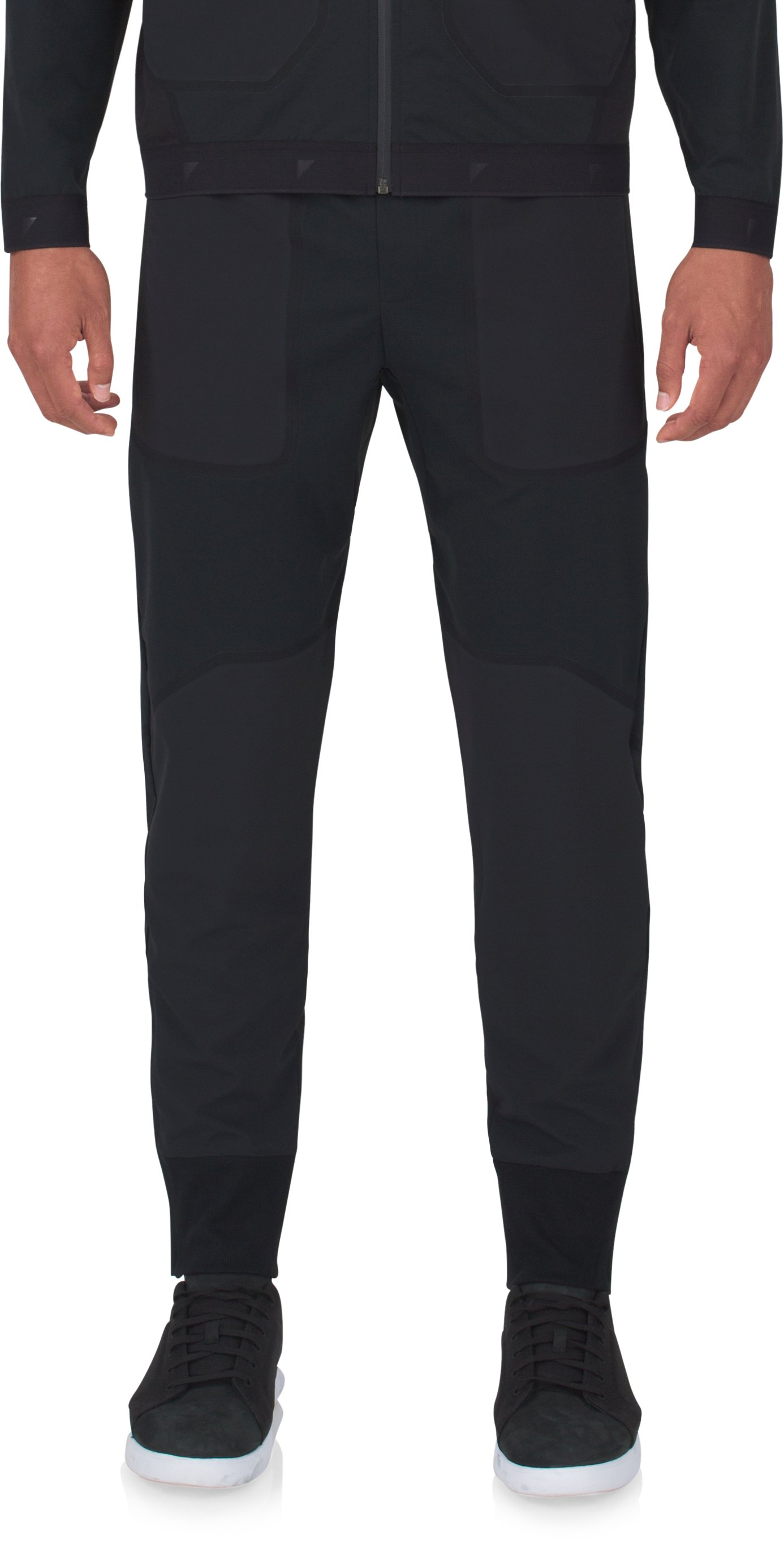Men's UAS Pivot Stretch Crepe Sweatpants, Black