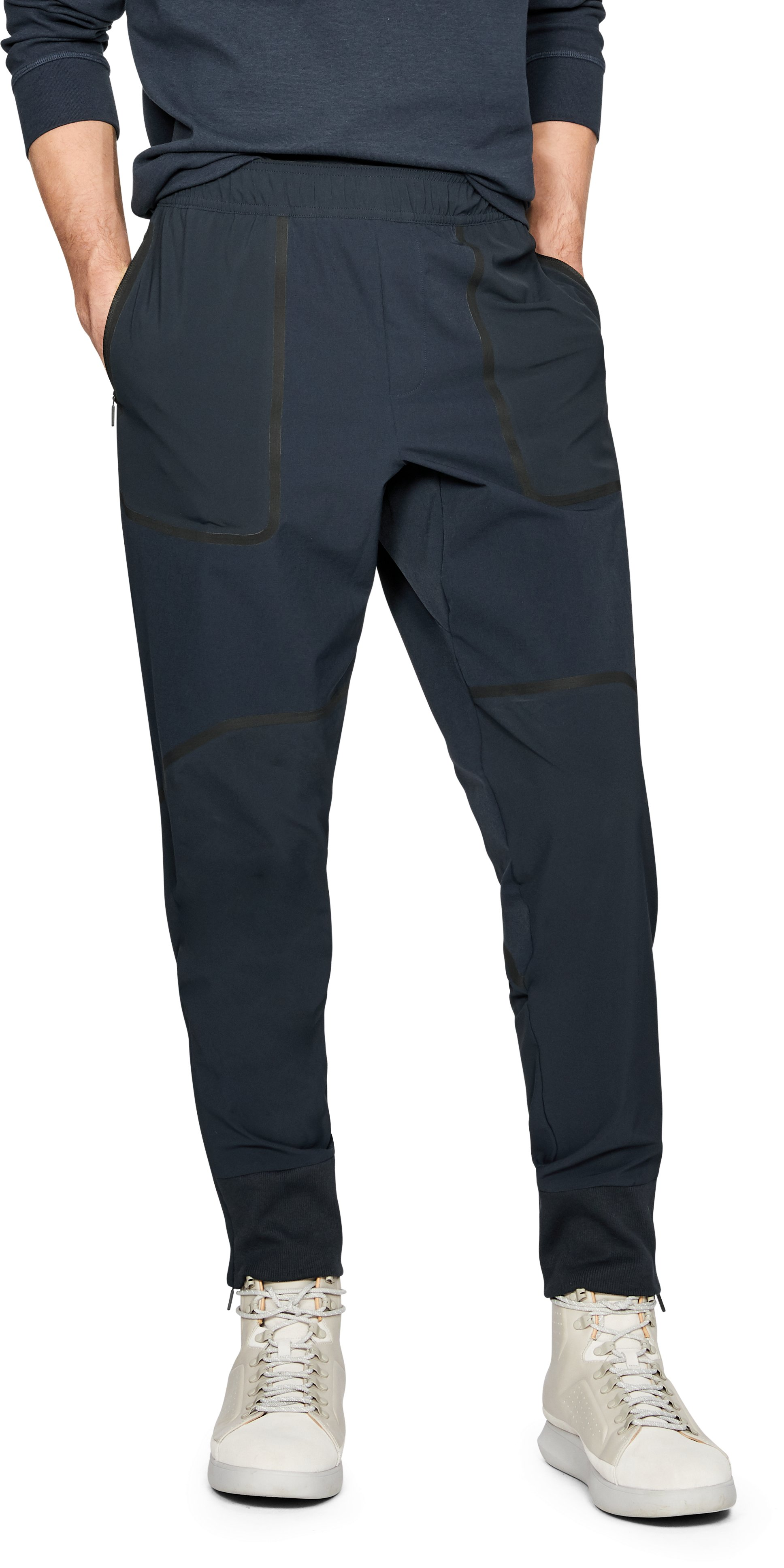 Men's UAS Pivot Stretch Crepe Sweatpants, UAS NAVY,