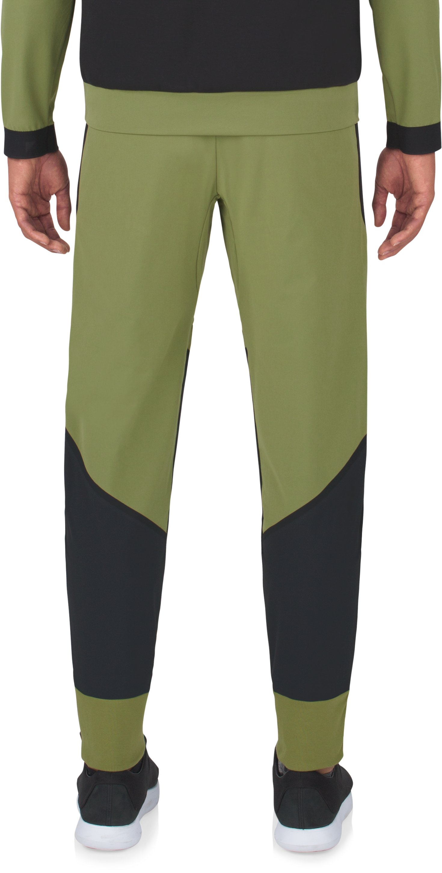 Men's UAS Pivot Stretch Crepe Sweatpants, MILITARY,