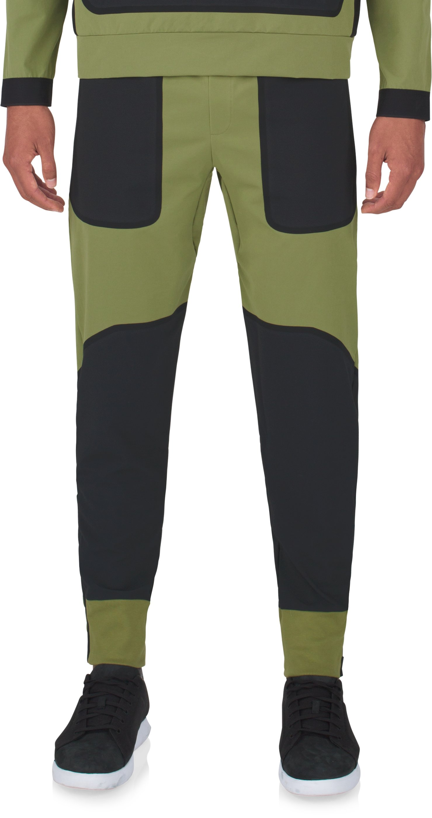 Men's UAS Pivot Stretch Crepe Sweatpants, MILITARY