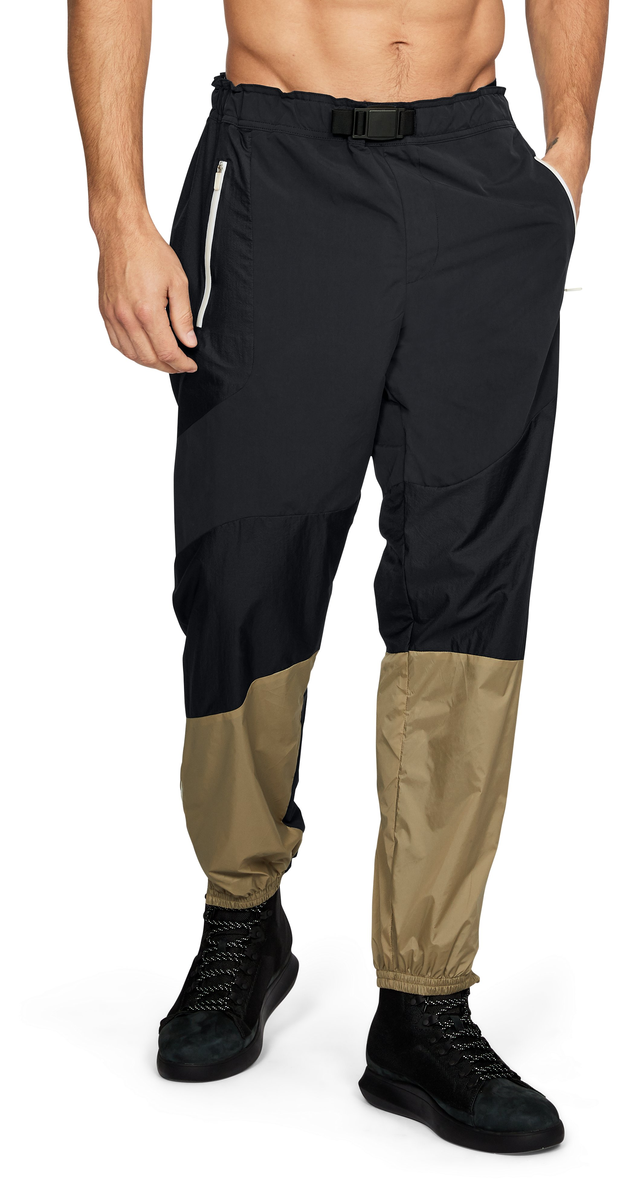 Men's UAS Meters Track Pants, Black , undefined