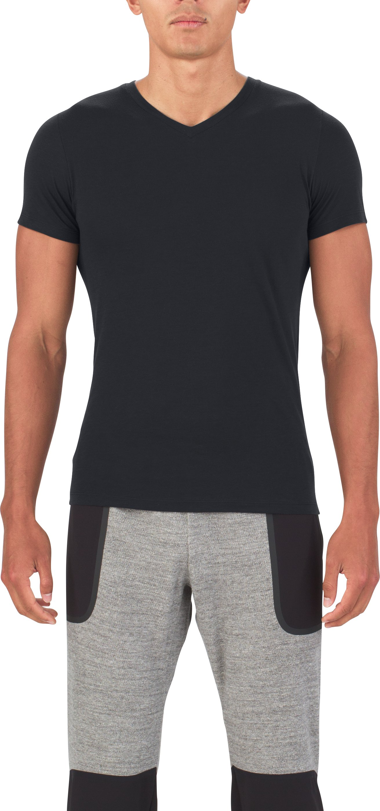 Men's UAS Prime V-Neck, Black