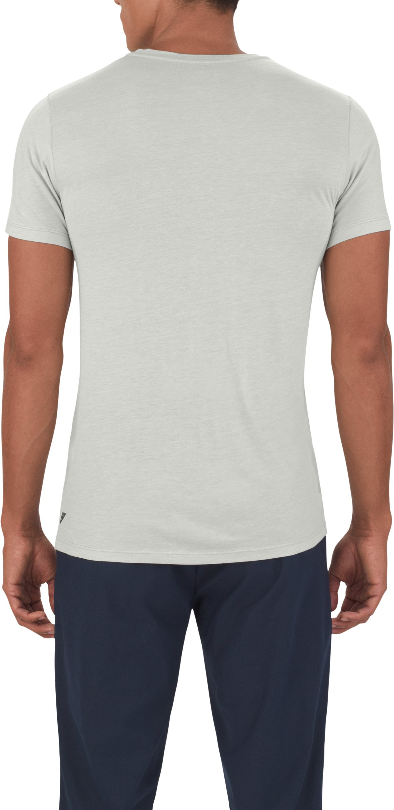 Men's UAS Prime V-Neck, LIGHT HEATHER GRAY, undefined
