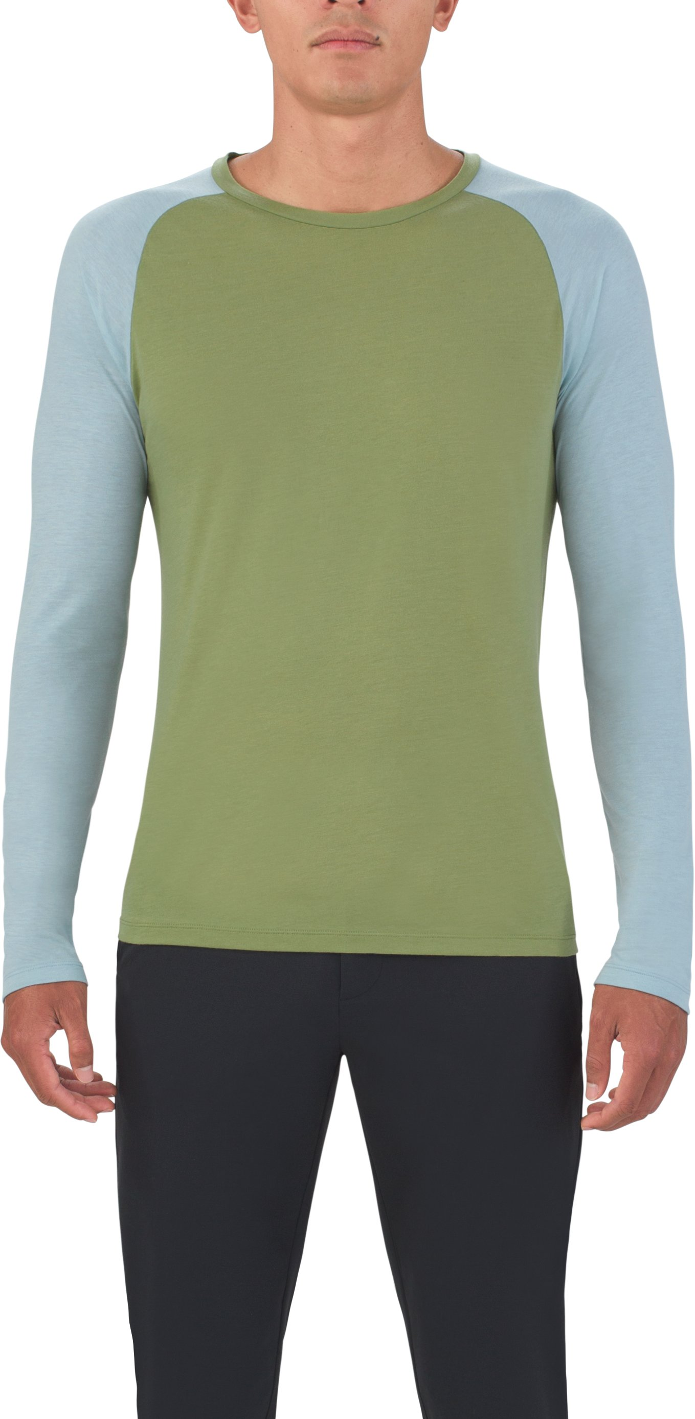 Men's UAS Prime Raglan, MILITARY,