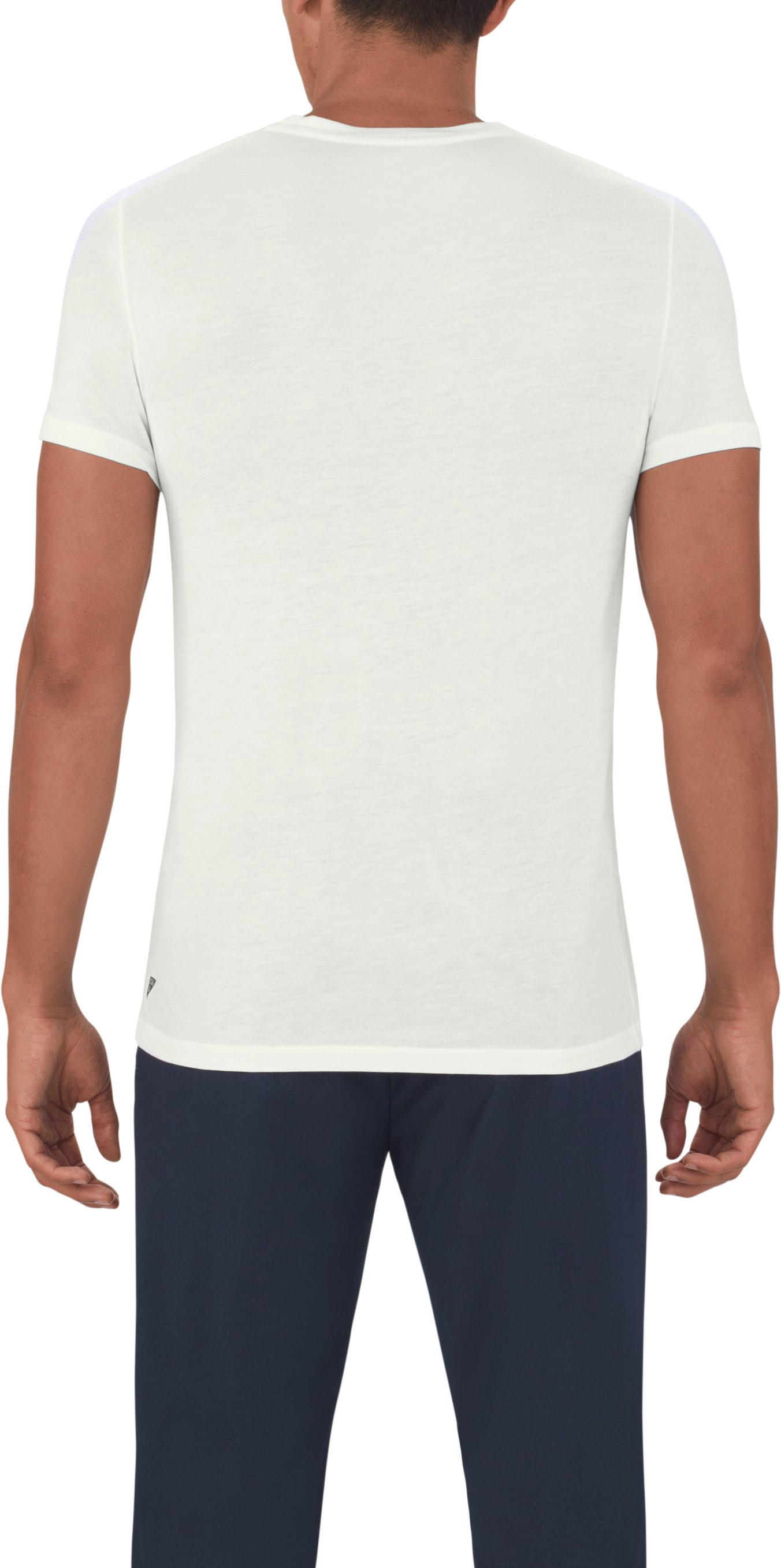 Men's UAS Prime Henley, White,