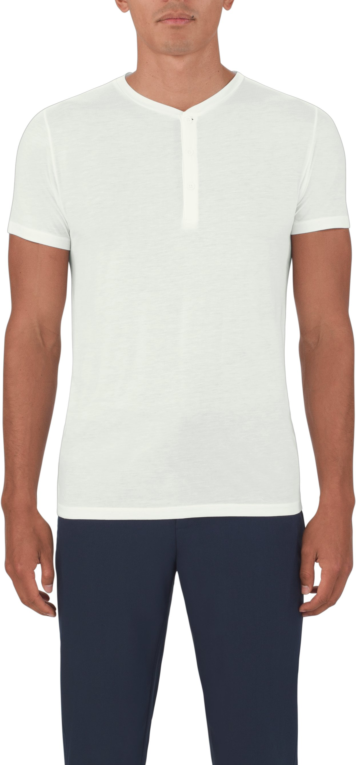 Men's UAS Prime Henley, White