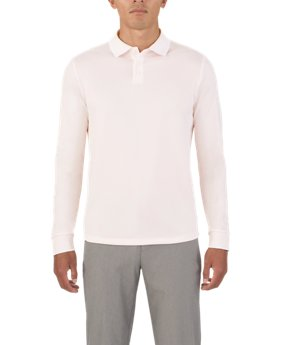Men's UAS Pique Long Sleeve Polo  3 Colors $90