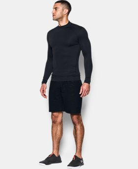 Men's UA ColdGear® Armour Jacquard Compression Mock  1 Color $59.99
