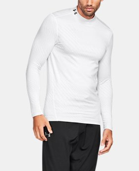 New Arrival Men's UA ColdGear® Armour Jacquard Compression Mock  1 Color $59.99