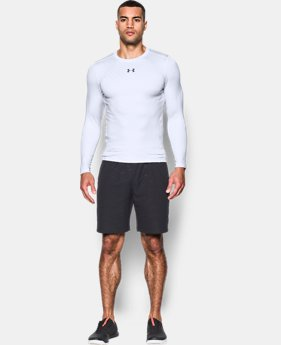 Men's UA ColdGear® Armour Jacquard Compression Crew  3 Colors $44.99