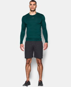 Men's UA ColdGear® Armour Jacquard Compression Crew  4 Colors $59.99