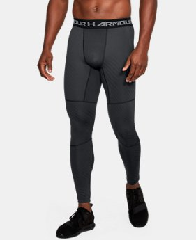 Men's UA ColdGear® Armour Jacquard Compression Leggings  1  Color $35.99