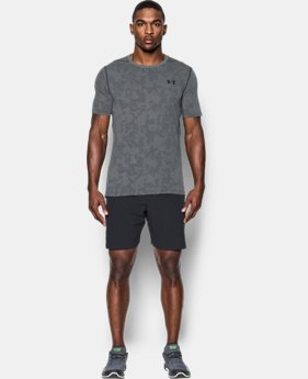 Men's UA Threadborne™ Elite Fitted Shorts Sleeve  1 Color $19.99 to $26.99