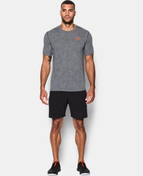 Men's UA Threadborne™ Elite Fitted Shorts Sleeve  4 Colors $34.99