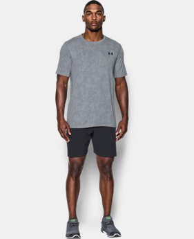 Men's UA Threadborne™ Elite Fitted Shorts Sleeve  2 Colors $19.99 to $26.24