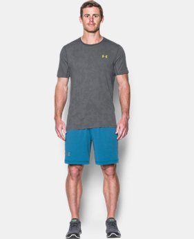 Men's UA Threadborne™ Elite Fitted Shorts Sleeve  4 Colors $26.24 to $34.99