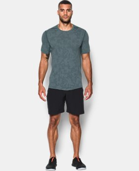 Men's UA Threadborne™ Elite Fitted Shorts Sleeve  1 Color $26.24 to $34.99