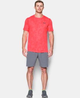 Men's UA Threadborne™ Elite Fitted Shorts Sleeve  2 Colors $34.99
