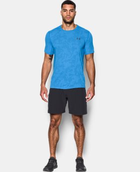 Men's UA Threadborne™ Elite Fitted Shorts Sleeve  1 Color $39.99