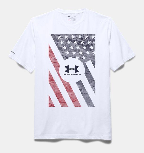 Men s UA USA Flag T-Shirt  f30d542ef