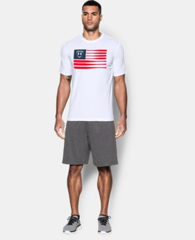 Men's UA Baseball Flag T-Shirt
