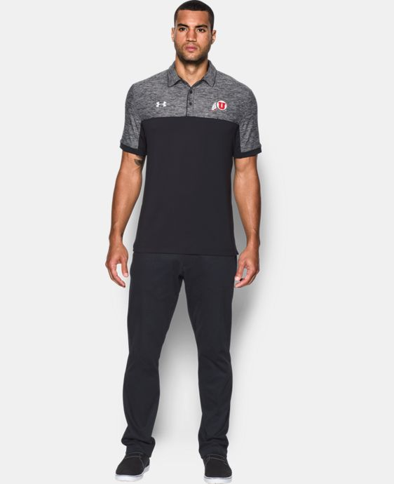 Men's Utah UA Polo LIMITED TIME: FREE U.S. SHIPPING 1 Color $69.99