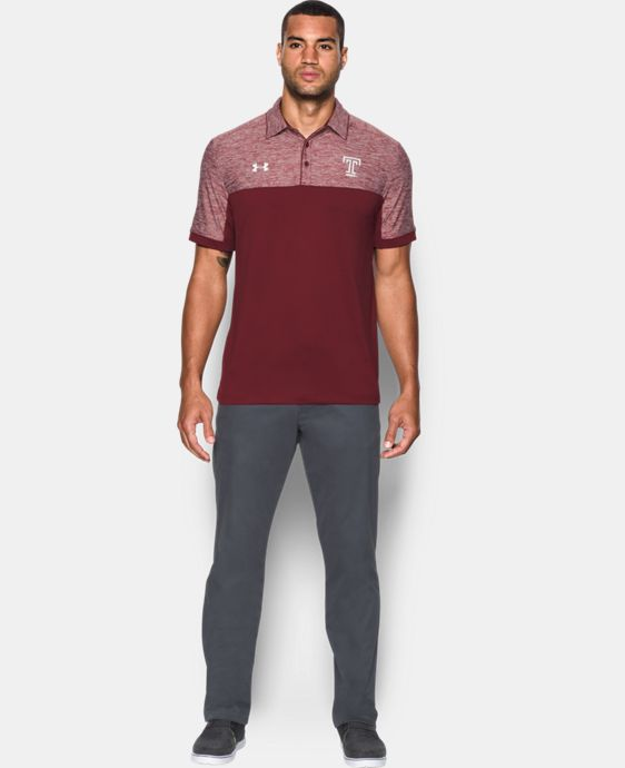 Men's Temple UA Polo LIMITED TIME: FREE U.S. SHIPPING 1 Color $69.99