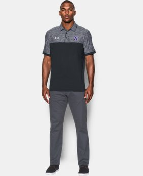 Men's Northwestern UA Polo LIMITED TIME: FREE U.S. SHIPPING 1 Color $69.99