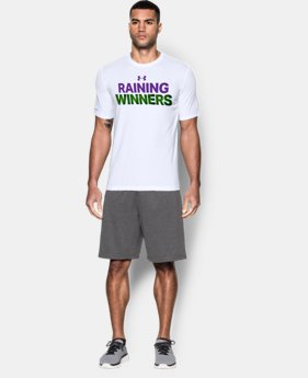 Men's UA Raining Winners T-Shirt LIMITED TIME: FREE U.S. SHIPPING 1 Color $14.24