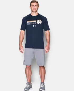 New Arrival Men's Notre Dame UA Tech™ Sideline T-Shirt LIMITED TIME: FREE SHIPPING 1 Color $29.99