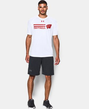 Men's Wisconsin UA Tech™ Sideline T-Shirt  1 Color $29.99