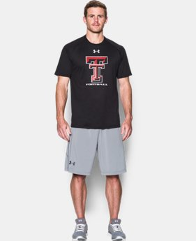 New Arrival Men's Texas Tech UA Tech™ Sideline T-Shirt  1 Color $29.99