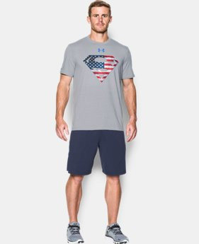 Best Seller Men's Under Armour® Alter Ego Superman USA T-Shirt LIMITED TIME: FREE SHIPPING 1 Color $34.99