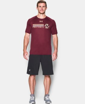 New Arrival Men's Boston College UA Tech™ Sideline T-Shirt LIMITED TIME: FREE SHIPPING 1 Color $29.99