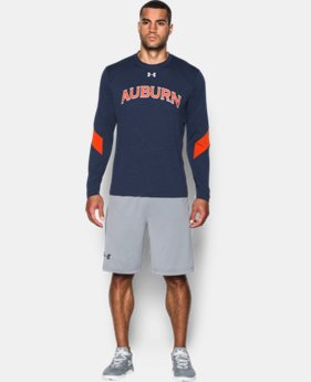 Men's Auburn UA Microthread Long Sleeve T-Shirt   $44.99