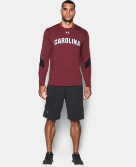 Men's South Carolina UA Microthread Long Sleeve T-Shirt LIMITED TIME: FREE SHIPPING  $44.99