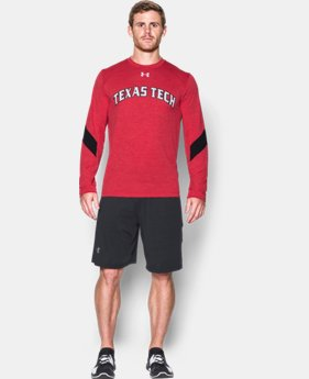 Men's Texas Tech UA Microthread Long Sleeve T-Shirt  1 Color $44.99