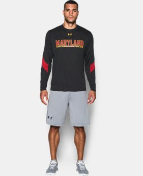 Men's Maryland UA Microthread Long Sleeve T-Shirt  1 Color $44.99