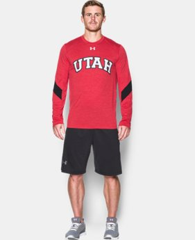 Men's Utah UA Microthread Long Sleeve T-Shirt LIMITED T