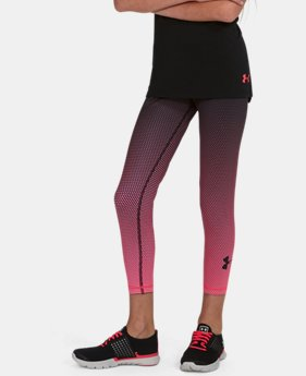 Girls' UA Reversible Crop Leggings  1 Color $64.99