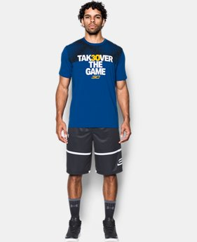 Men's SC30 Takeover T-Shirt  1  Color Available $26.99