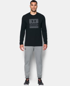 Men's UA Boxed In Long Sleeve T-Shirt  1 Color $29.99